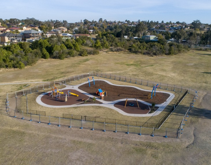 improvements are being made to bakers brickyard playground
