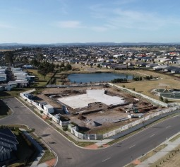 construction on the new gillieston heights community centre is expected to be complete in the first half of next year