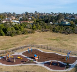 improvements are being made to bakers brickyard playground - web