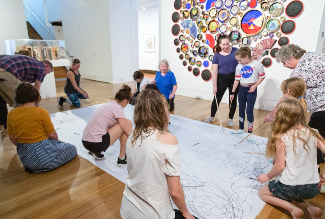 Sip and Stretch at Maitland Regional Art Gallery