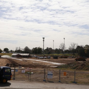 Athletics Centre construction